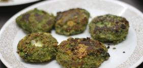 Cheesy Hara Bhara Kebabs