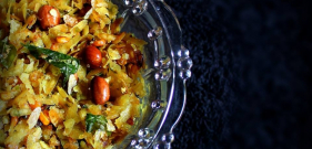 Poha Chivda in the Microwave